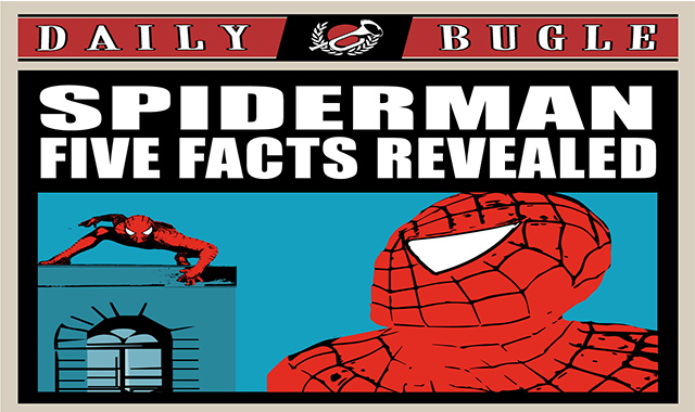 Spider Man Five Facts Revealed