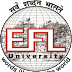 EFLU ఉద్యోగాల నియామకం 2020 - 58 పోస్టులకు బోధన