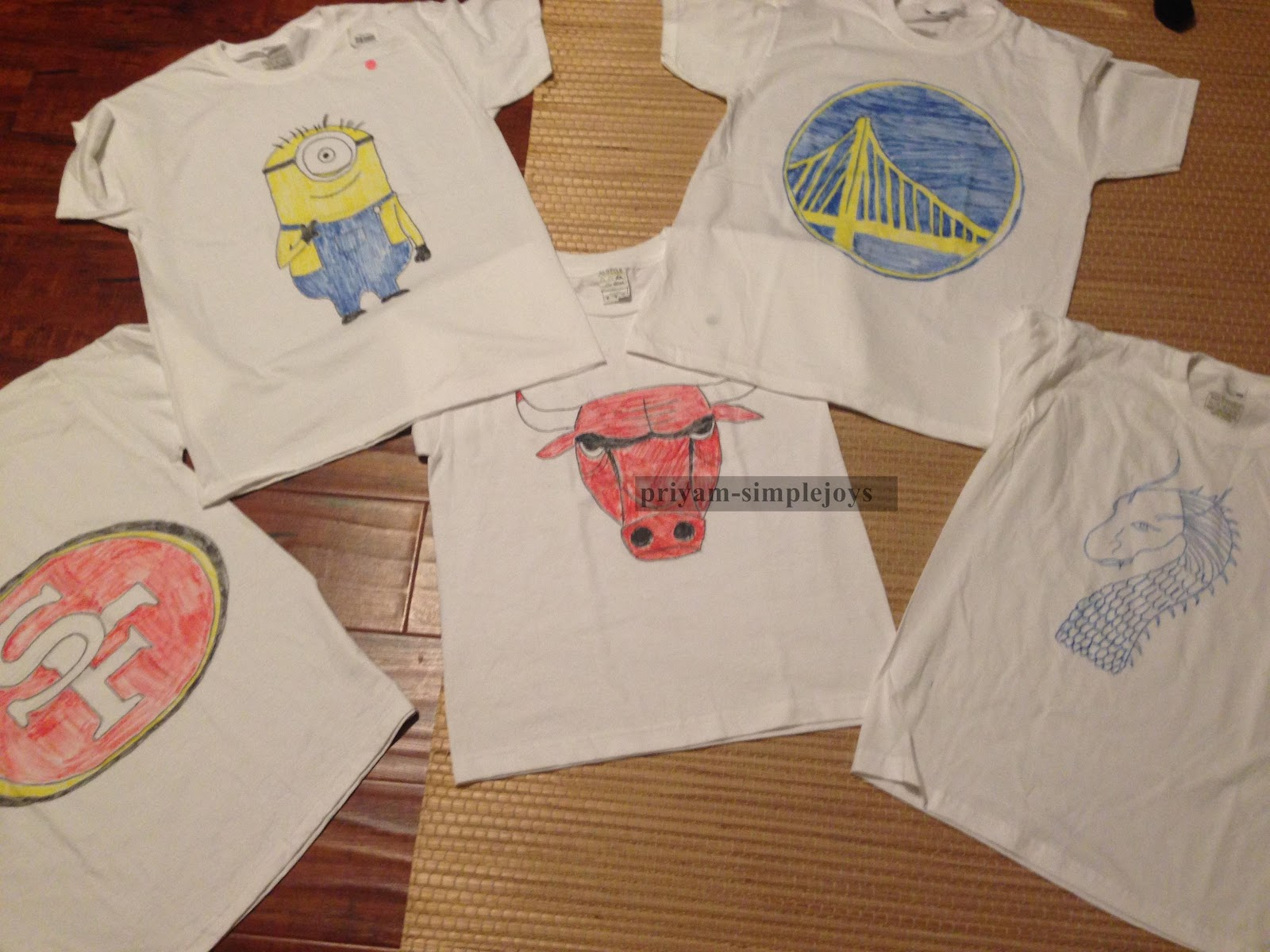 Imagenes De How To Decorate A T Shirt With Fabric Markers