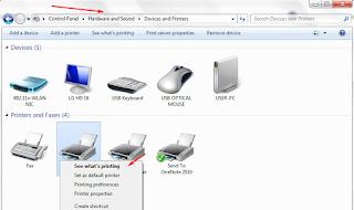 mengaktifkan fitur sharing printer di komputer windows