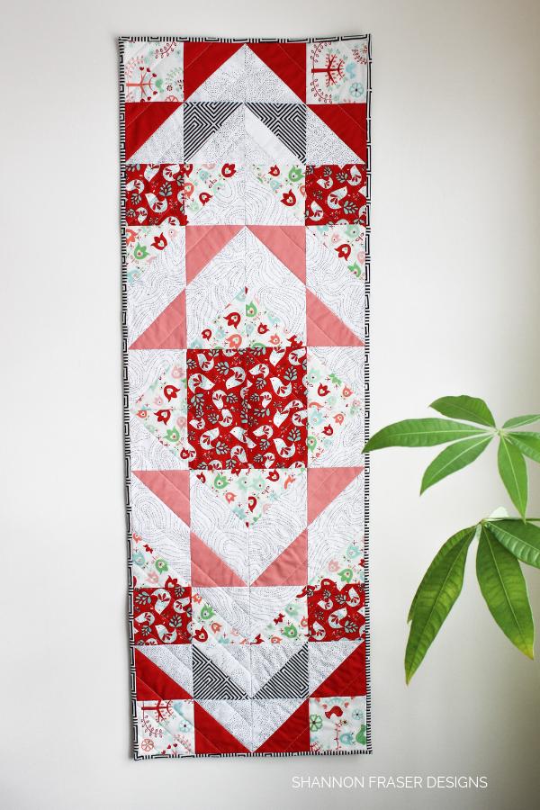 Holiday Modern Aztec Table Runner | Shannon Fraser Designs