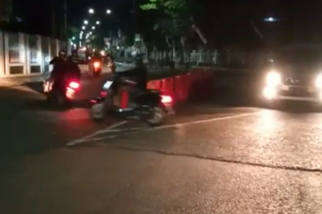 Polisi Tak Berkutik, Balap Liar di Tengah Kota Watampone Kian Marak