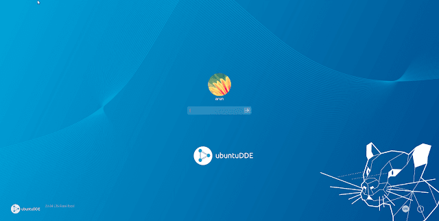 Inicio de sesión de UbuntuDDE