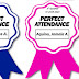 PERFECT ATTENDANCE Ribbon (Free Download)