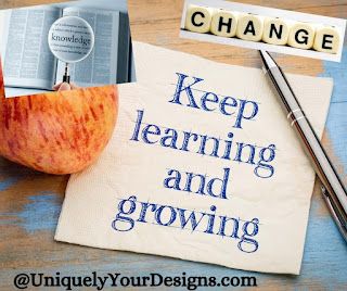 Keep learning and growing