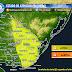AVISO | Lluvia puntualmente abundantes y viento (Vier 25/3 - Sab 26/3)