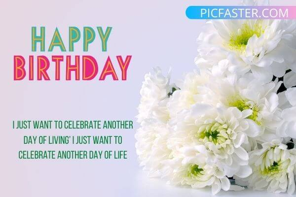 Top 20 Happy Birthday With Flowers Images Download 2020 Whatsapp Dp Status Pics Picfaster