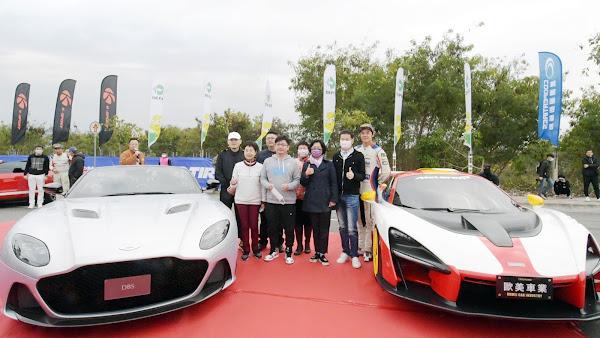 2021彰化賽車節封街拉力賽 高鐵彰化站前廣場尬車