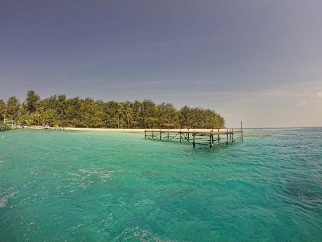 wisata alam pulau menjangan