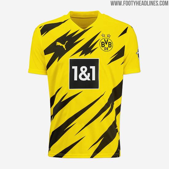 Borussia Dortmund 20 21 Home Kit Released Footy Headlines