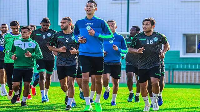 الرجاء الرياضي يستعد لمواجهة روما الإيطالي وإتحاد جدة السعودي