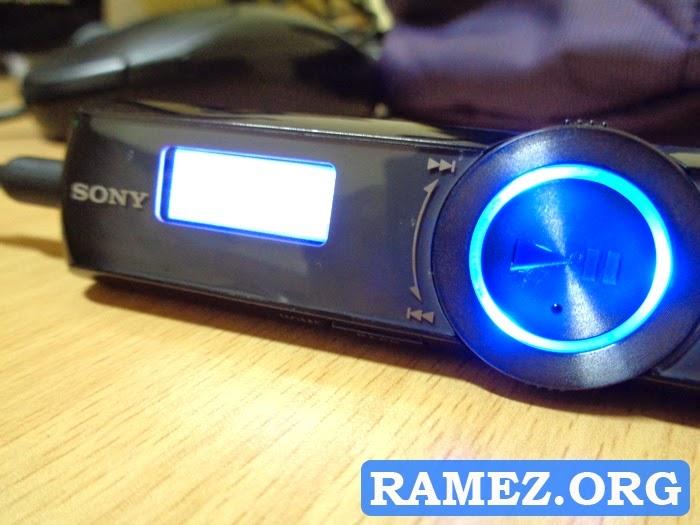 Sony MP3 Player NWZ-B172F 2GB ZAPPIN