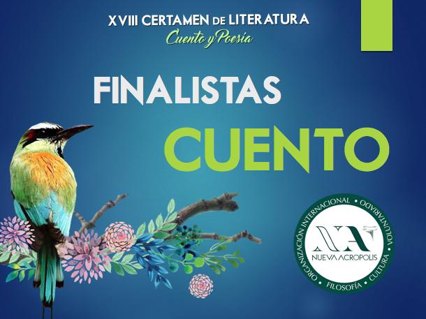Finalistas Cuento Certamen de Literatura Nueva Acrópolis Santa Ana, El Salvador