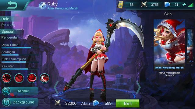 Hero Ruby ( Anak Kerudung Merah ) Dagerous Attack Build Set up Gear