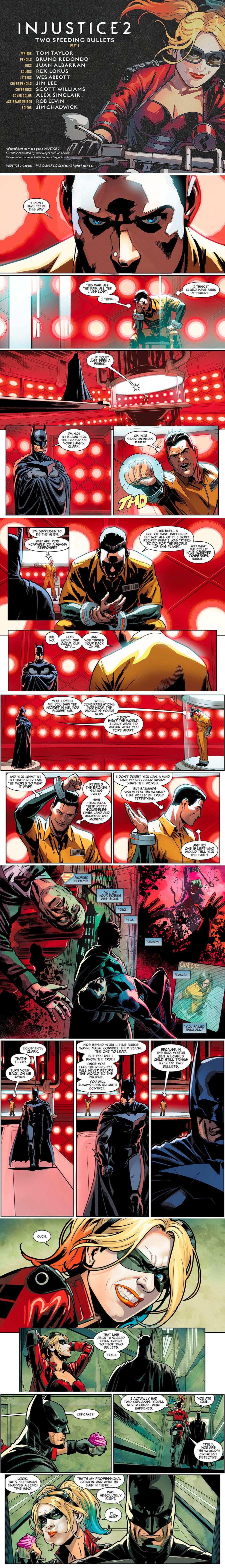 Batman and Superman. Injustice 2