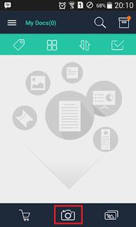 Cara Mudah Scan KTP dll Menggunakan Android dengan aplikasi CamScanner