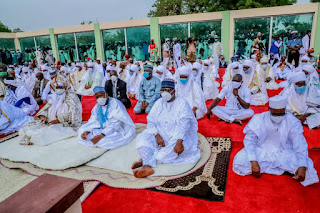 Despite high COVID-19 cases in Kano, Eid prayers hold without social distancing. PHOTOS