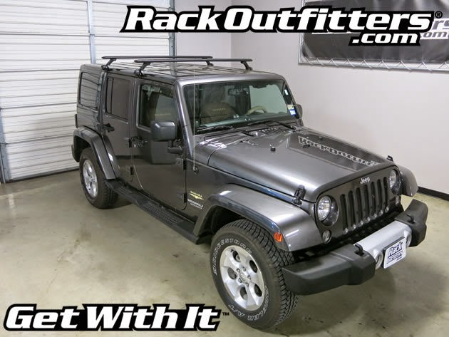 NEW Jeep Wrangler Unlimited Thule Rapid Gutter Foot BLACK ...