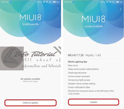 2 Cara Mudah Update MIUI 8 ke MIUI 9 Terbaru