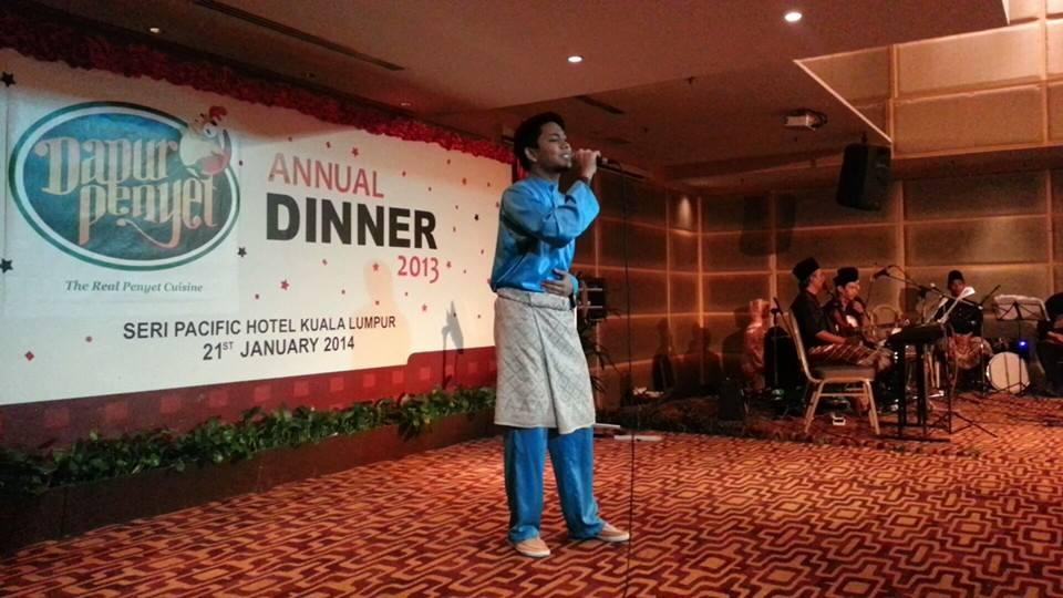 Pengurusan Acara Majlis Makan Malam Dapur Penyet Malaysia