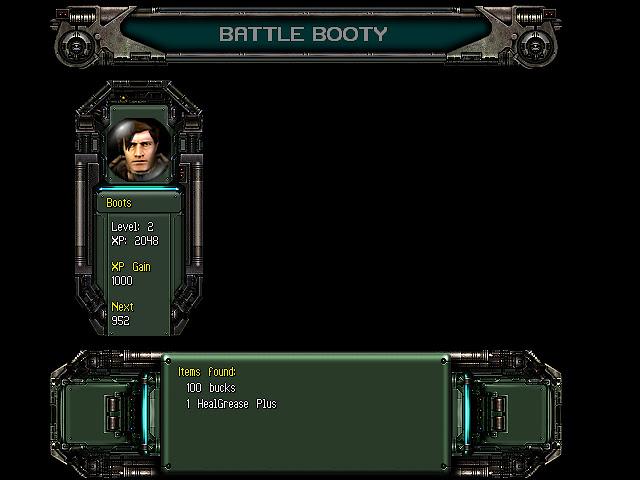 Ananchronox battle booty level up screen