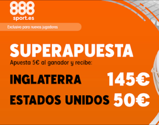 888sport superapuesta Inglaterra vs EEUU 2 julio 2019