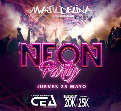 NEON PARTY Matildelina Bogota