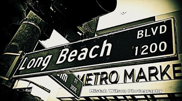 Long Beach Boulevard, Long Beach, California by Mistah Wilson