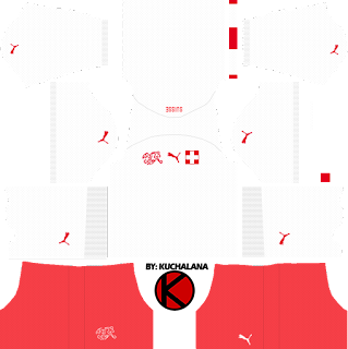 Switzerland 2018 World Cup Kit - Dream League Soccer Kits