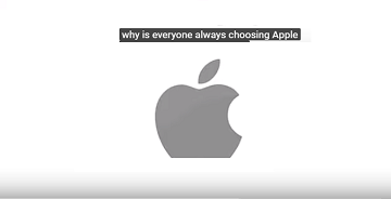 Why is everyone always choosing Apple