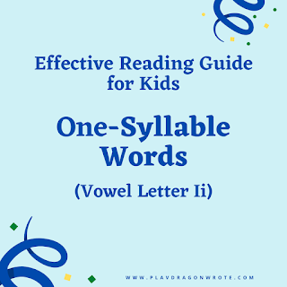 One-Syllable Word that Starts with the Vowel Letter Ii - Effective Reading Guide for Kids Picture