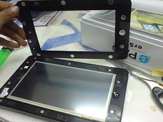 "Mengatasi LCD Epad 7"" yang ngaco"