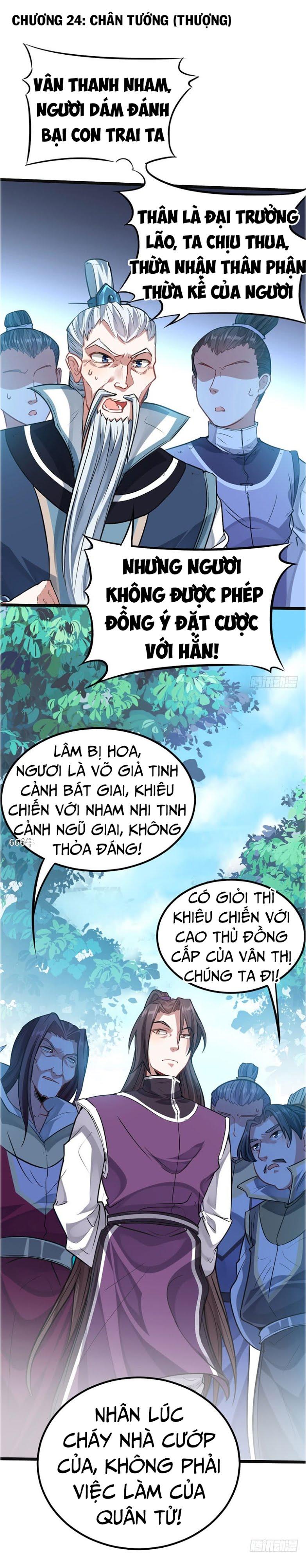 Tiên Đế Trở Về Chapter 24 video - Hamtruyen.vn