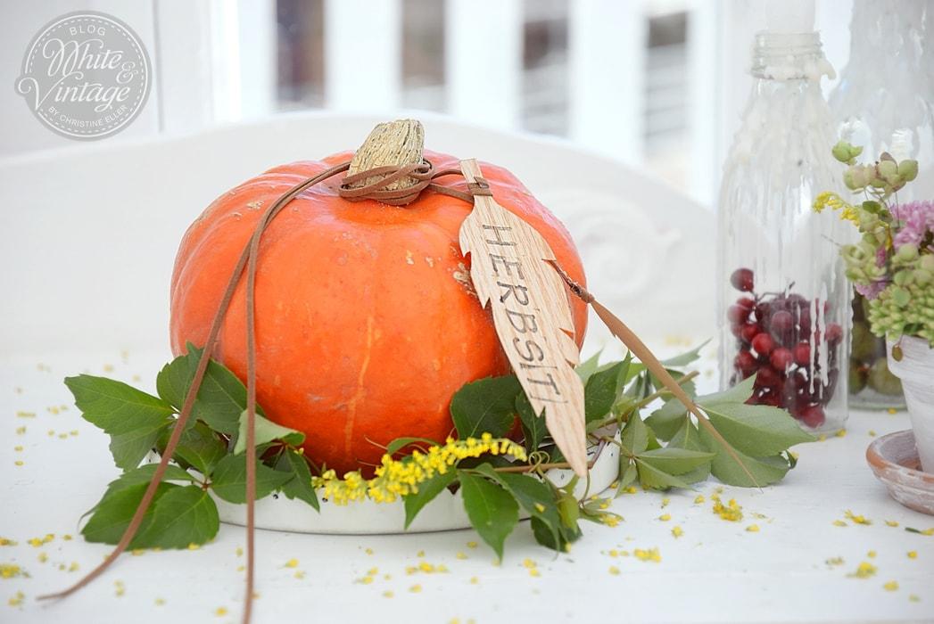 Dekoideen für den Herbst.