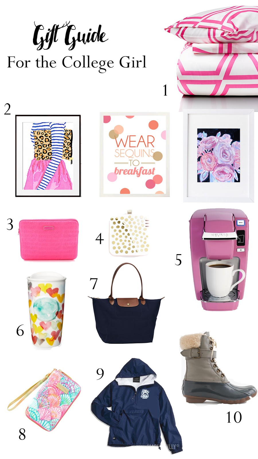 Gift Guide For The College Girl Caralina Style