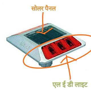 Solar Panel Road Reflector