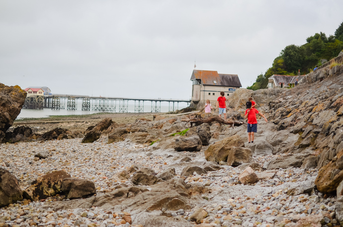 South Wales with Kids, exploring Wales, The Mumbles, Mumbles Pier