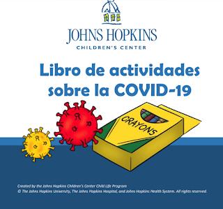 Libro infantil para Colorear sobre COVID-19