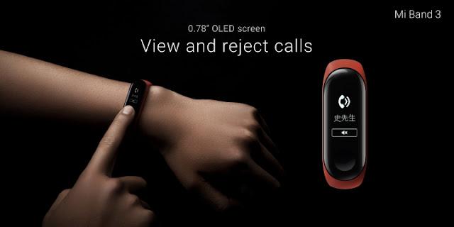 Mi Band 3, Gelang Pintar Milik Xiaomi Seharga Rp 360.000
