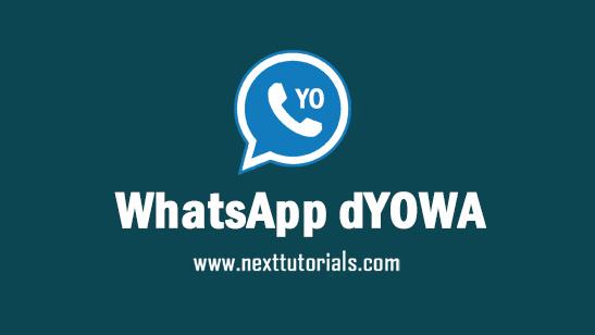 WhatsApp dYOWA v69 Apk Mod Latest Version Android,Install Aplikasi dYOWhatsApp iOS Terbaru 2021,tema dyowa keren,download wa mod anti banned,