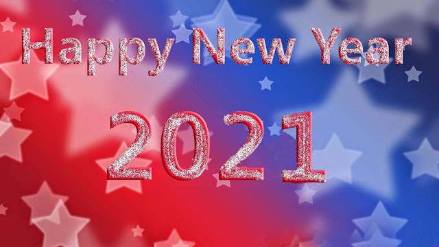 American Happy New Year 2020 HD Wallpaper