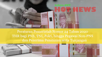 Presiden Jokowi Resmi Teken Aturan THR PNS, Ini Jadwal Pencairannya