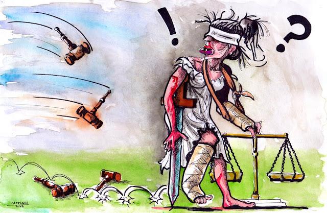 """Η """"δικαιοσύνη"""" στην Ελλάδα της ΕΚΠΟΡΝΕΥΣΗΣ. Θα κάθονταν στο εδώλιο του κατηγορούμενου, αντιμετωπίζοντας βαρύ κατηγορητήριο και ποινές έως και ισόβιας κάθειρξης ... αλλά...απαλλάχτηκαν ..."""