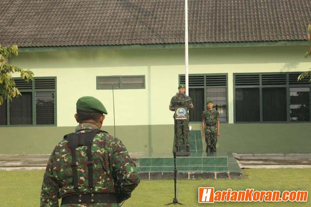 Kodim 0735/Surakarta Laksanakan Upacara Bendera, Ini Maknanya
