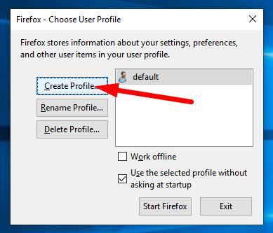 Cara Membuat Dan Menambah Profile Baru Pada Mozilla Firefox