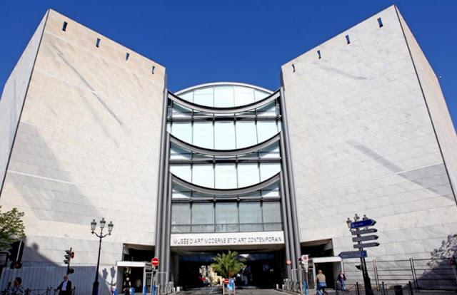 Museu de Arte Contemporânea em Nice
