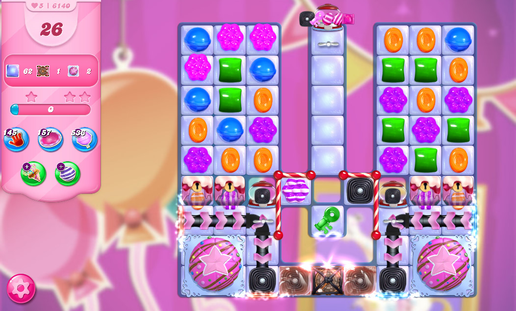 Candy Crush Saga level 6140