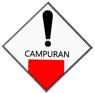 SIMBOL LIMBAH B3 CAMPURAN