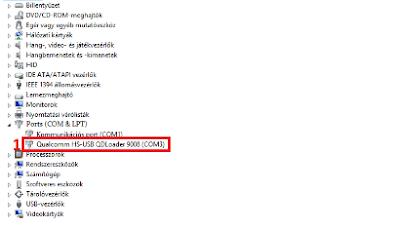 Qualcom HS-USB QDLoader 9008