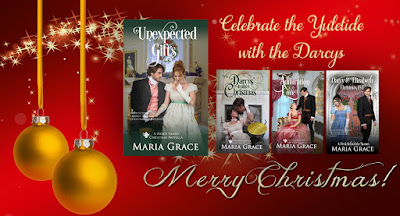 Maria Grace's Darcy Family Christmas Series